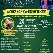 Workshop #KreKKMethod 20 November 2016 BLITAR