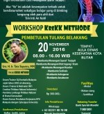 Workshop KreKK Method Blitar