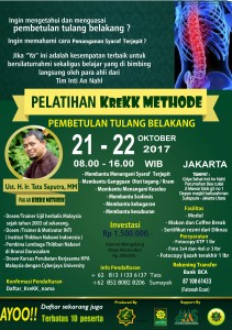KREKK METHODE 21OKT JAKARTA