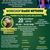 Workshop #KreKKMethod 20 November 2016 BLITAR
